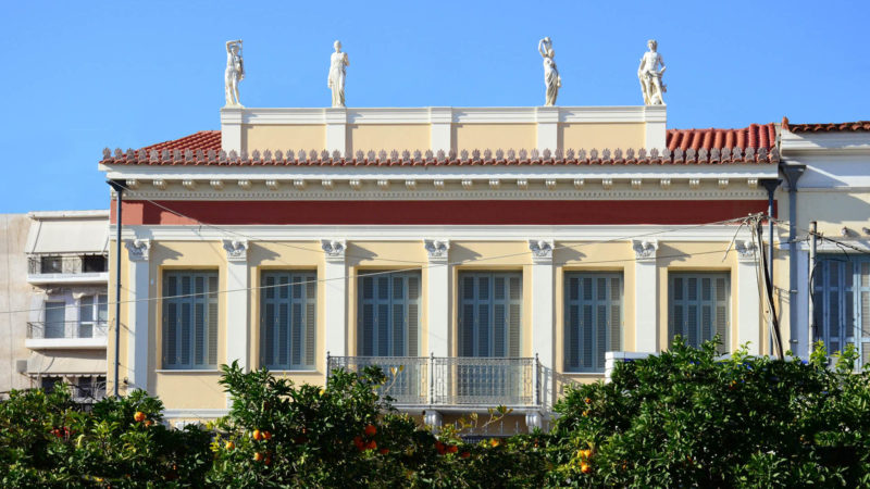 RESTORATION OF NEOCLASSICAL BUILDING